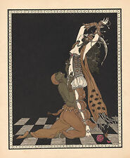 Ballets Russes Print Reproduction: Nijinsky in Scheherszade - Fine Art Print