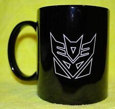 "Transformers Decepticon icon coffee Coffie Mug ""Can be Personalized"" Red or Blac"