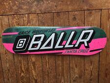 Santa Cruz Eric Winkowski 8 Ballr 8.25 Skateboard Deck nouvelle et scellée 1st Edition