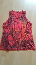 Tunika Shirt Gr.Xl Knitterlook Ethno Hippie Indien Sure