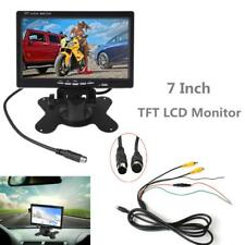 12V 2CH Video In 7Inch 800 x 480 TFT LCD Headrest Reversing Monitor Car Monitor