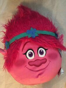 "DreamWorks Trolls Poppy Travel Cloud Pillow Plush Very Soft 24"" x 16""Huge"