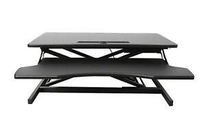 Höhenverstellbarer Schreibtischaufsatz Sitz-Steh-Schreibtisch höhenverstellbar