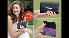 Oriflame Spirit Wallet/Purse Black & Purple (Inside)