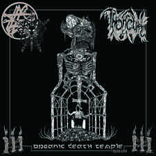 THRONEUM Organic Death Temple MMXVI LP Coke Bottle Clear vinyl NEW