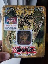 YU-GI-OH HAMON LORD OF STRIKING THUNDER NEW 2006 TIN Sealed EXTREMELY RARE !