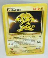 Rare Pokemon Card Electabuzz 24/130 1999-2000 Wizards