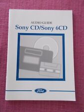 FORD SONY CD & SONY 6CD AUDIO HANDBOOK GALAXY C-MAX MONDEO FOCUS (ACQ 6131)