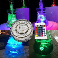 RGB 16 Colors LED Light for Shisha Hookah Narguile Bar Decoration Accessories Fe