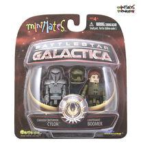 Battlestar Galactica Minimates Series 2 Cylon Cannon Centurion & Lt. Boomer
