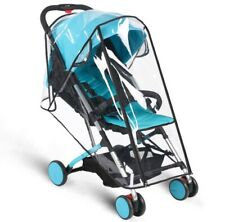 New Waterproof Baby Stroller Rain Cover Wind Dust Shield Canopy Pushchair S M L