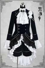 Black Butler Cosplay Costume for Ciel Phantomhive