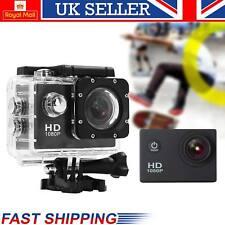 New 12MP Waterproof Sports Camera Action 1080P Mini DV Video Helmet DVR Cam UK