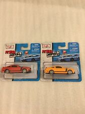 Two Mustang Boss MAISTO Fresh Metal New In Packages