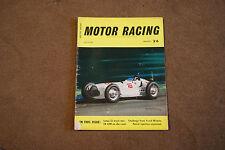 BRSSC Magazine March 1962 Lotus 22 New Zealand GP Gemini Mk3A Jack Brabham