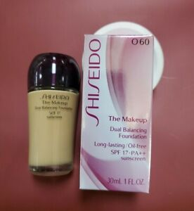 Shiseido The Makeup Dual Balancing Foundation O 60 / O60 Natural Deep Ochre