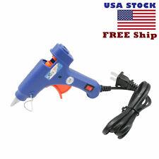 Hot Melt Glue Gun 20W 7mm Safety LED Light Indicator Melting DIY US Shipping