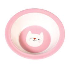 dotcomgiftshop COOKIE THE CAT MELAMINE BOWL