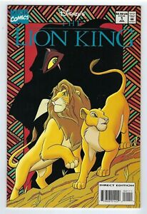 Disney's The Lion King  # 1  Marvel Comics 1994 High grade copy.