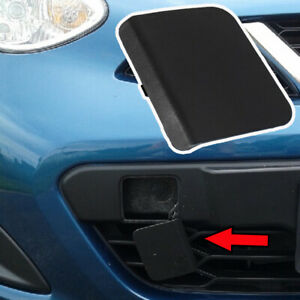 Front Bumper Towing Tow Hook Eye Cover Cap For Nissan Micra K14 2014 2015 2016