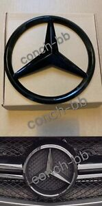 FRONT GRILLE STAR cover Black for MERC A,C,B,GLA,GLK,CLA,SLK,CLS,E Class (Add On