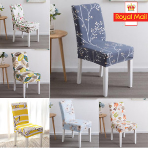 Stretch Soft Velvet Chair Covers Slipcover Dining Room Chair Seat Banquet Decor