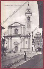 NOVARA CARPIGNANO SESIA 43 PARROCCHIALE Cartolina VIAGGIATA 1916 Foto MELLA