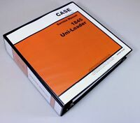 CASE 1845 UNI-LOADER SKID STEER SERVICE TECHNICAL MANUAL REPAIR SHOP IN BINDER