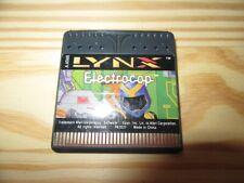 JEU ATARI GAME LYNX ELECTROCOP