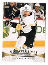 2011-12 Upper Deck UD Exclusives #302 Evgeni Malkin 023/100