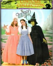 """2014 Simplicity Costume Wizard of Oz Sewing Pattern C4136 """"Misses' Costume""""Dress"""