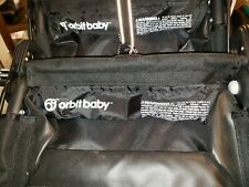 Euc Orbit Baby Black Stroller Panniers Saddlebags Pair