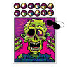 Halloween Party Game PIN THE EYEBALL on The ZOMBIE for 12 Guests