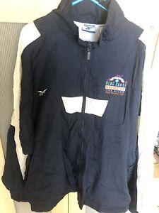 Mens Reebok annual blue cross broad street run ten miler vintage jacket XL