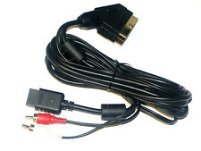 RGB Scart Kabel TV Cable für Sony Playstation PS1 PS2 PS3 PSX (PS0005)