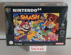 N64 - Super Smash Bros. - (OVP, mit Anleitung) C3738