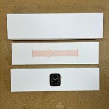 Apple Watch Series 6 A2291 40MM Gold  Aluminum Case Pink Sand Sport Band