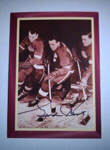 RARE Gordie Howe 1995-96 Parkhurst Mr Hockey On Card Signed Autograph /500 L@@K!
