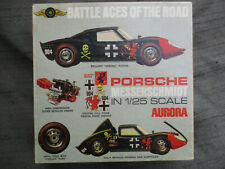 VINTAGE 1970 AURORA PORSCHE MESSERSCHMIDT MODEL CAR KIT BOX ONLY