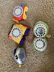 Viewmaster Lot (3 Viewers And Multiple Slides, Storage Case)