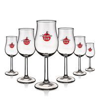6 x Havana Club Glas Gläser Bugatti Kelch Edition Selten Design NEU
