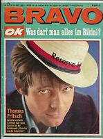 BRAVO Nr.27 vom 26.6.1967 Roger Moore, Bee Gees, George Nader, Jimi Hendrix ...