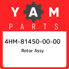 4HM-81450-00-00 Yamaha Rotor assy 4HM814500000, New Genuine OEM Part