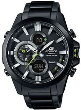 Casio Edifice Bluetooth Tough Solar Mobile Link 100m Men's Watch ECB-500DC-1A