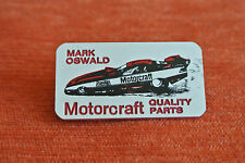 14872 PIN'S PINS AUTO VOITURE CAR NASCAR FORD PROBE MOTORCRAFT MARK OSWALD  RARE