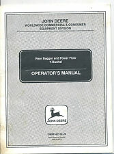 John Deere Rear Bagger and Power Flow 7-Bushel Operator's Manual OMM142518