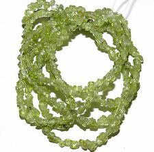 NG1654f Natural Green Peridot Mini-Chip (<4mm) Gemstone Nugget Chip Beads 35""