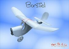 Borstel, Slowflyer, Elektroflugzeug, Modellflugzeug, Brushless, Depron, Selitron