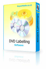 CD DVD Labeling Maker Creator Maker Design Professional Print PC DVD Software