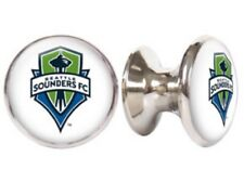SEATTLE SOUNDERS FC MLS DRAWER PULLS / CABINET KNOBS